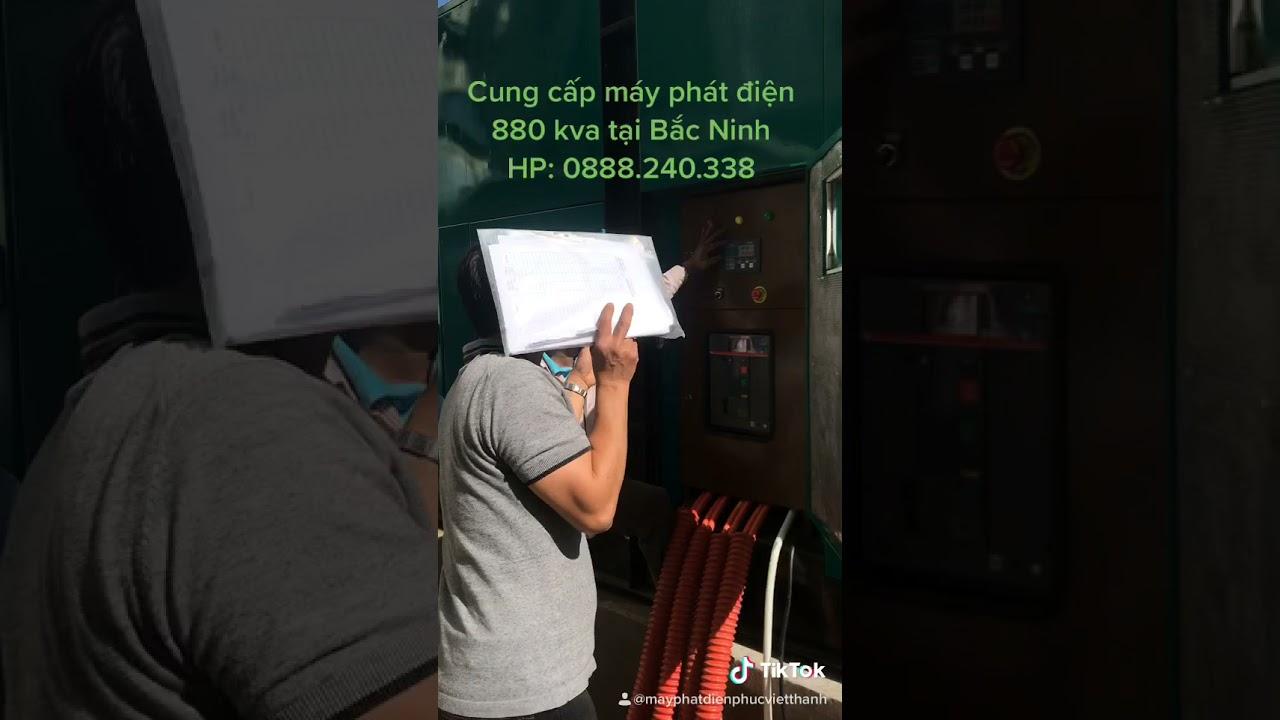image Cung cấp máy phát điện 880 kva cho chung cư tại Bắc Ninh
