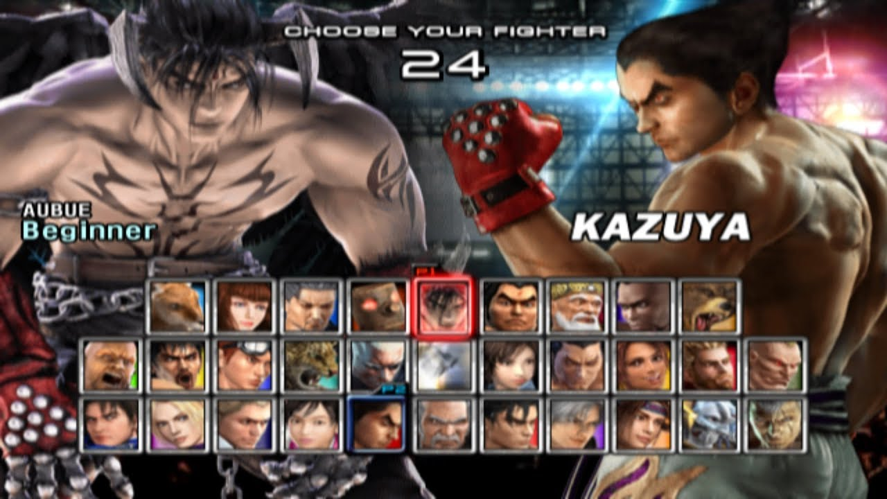 Tekken 5 All Characters Ps2 Youtube