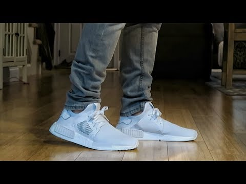 """adidas NMD XR1 """"Triple White"""" Review & ON FEET"""