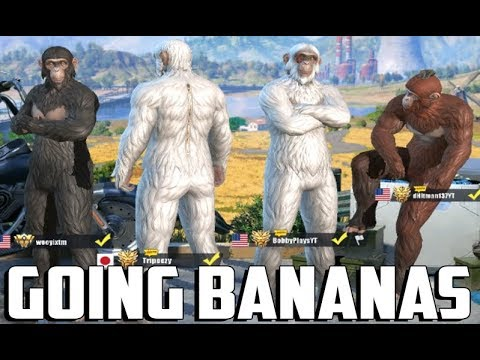 Going bananas with the youtubers 35 kills