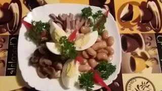 """Салат из говяжего языка""""язычок"""""""