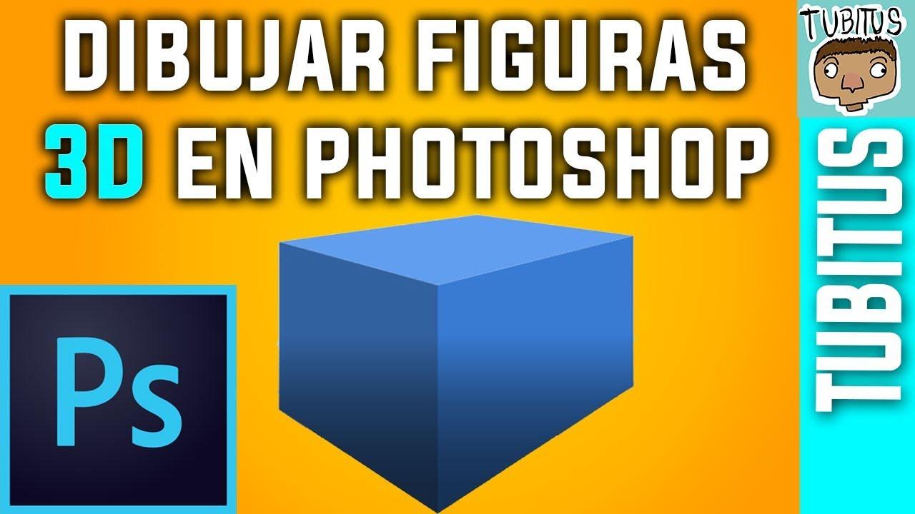 Cómo Dibujar Figuras 3d En Adobe Photoshop Figuras Limpias Y Profesionales Youtube