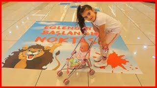 Eğlence Merkezine Gittik, Etapları Geçerek Oyun Alanı'na Ulaştık | Çocuk Videosu