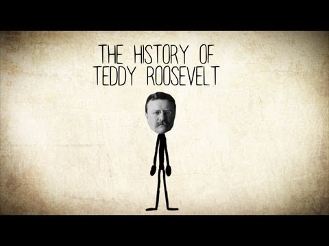 The History of Theodore [Teddy] Roosevelt - A Short Story