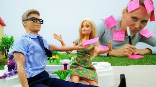 Маша потеряла телефон, а Барби нашла себе парня!