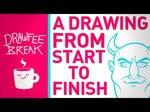 A Drawing From Start to Finish - DRAWFEE BREAK