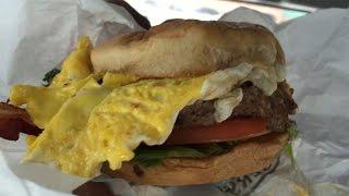 Steak N Shake Royale Breakfast Burger