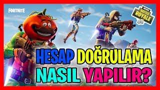 FORTNITE HESAP DOĞRULAMASI NASIL YAPILIR | BEDAVA DANS (Fortnite Battle Royale Türkçe)
