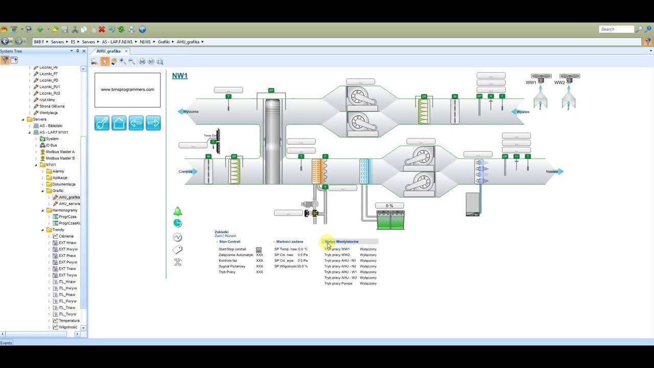 System Bms Based On Smartstruxure Solution By Bms
