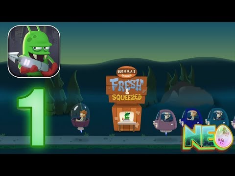 Zombie Catchers: Gameplay Walkthrough Part 1 - Let's Start The Business! (iOS, Android)