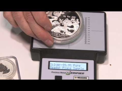 CoinWeek: Precious Metal Verifier Available to Help Determine Genuine Gold & Silver Items.