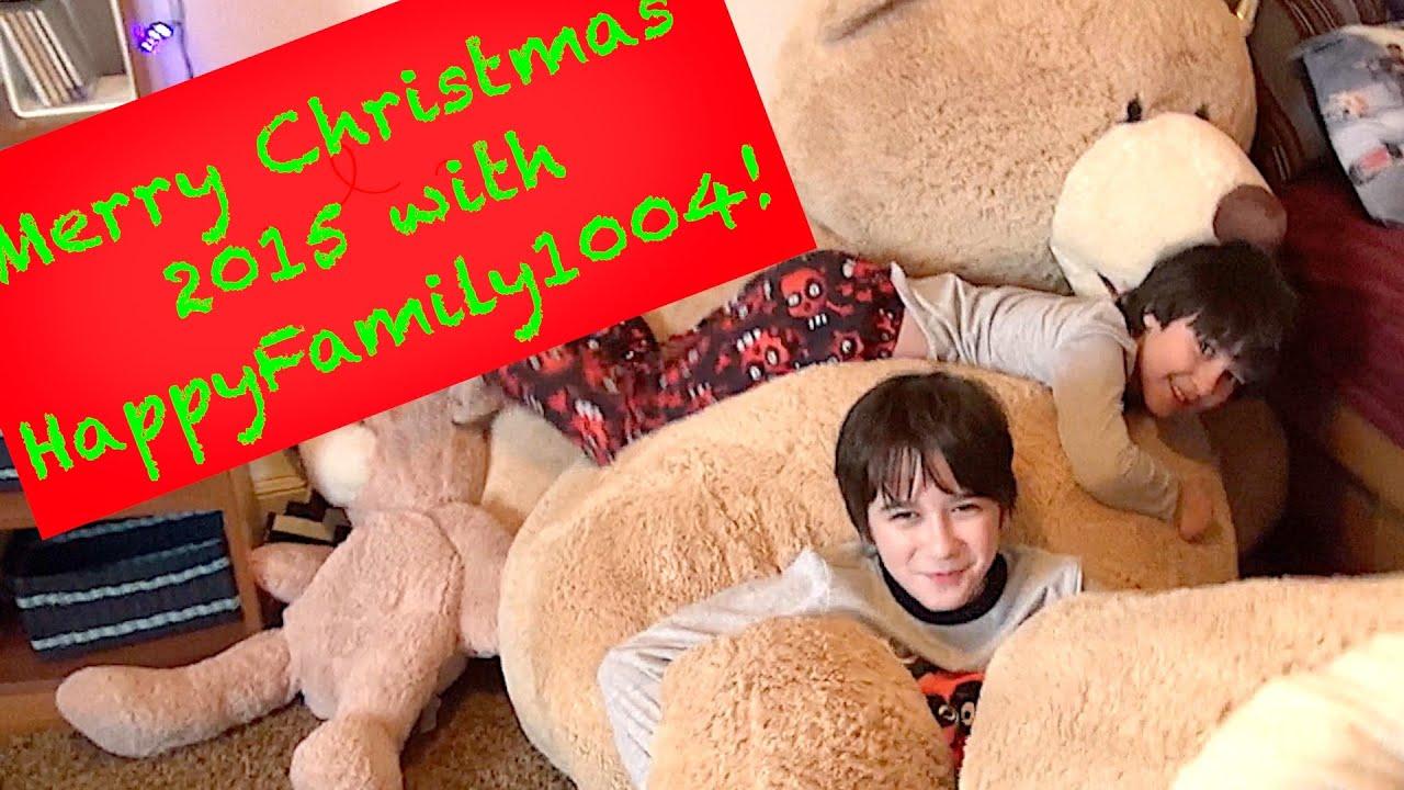 Christmas 2015 with HappyFamily1004! - YouTube