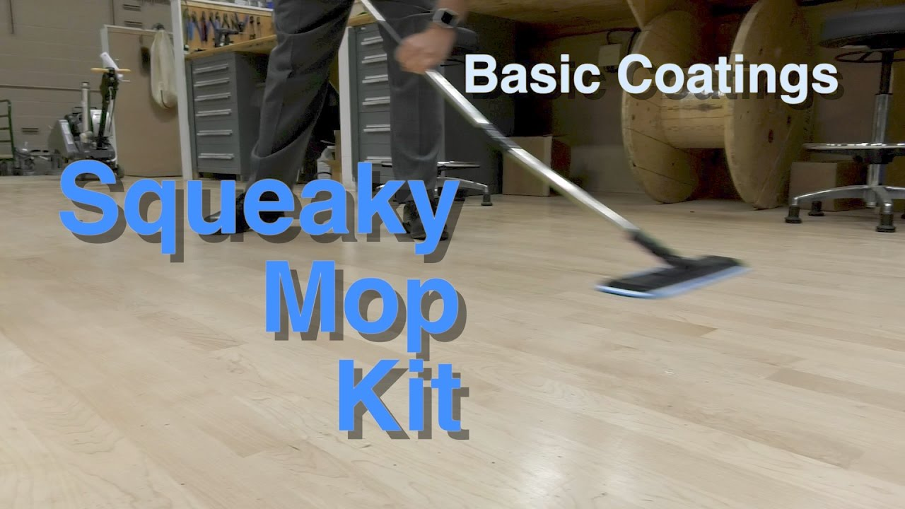 Squeaky Mop Kit By Basic Coatings City Floor Supply