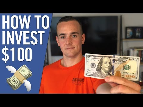 How To Invest Your First $100 💸 [3 WAYS] Investing As A Beginner With Little Money!