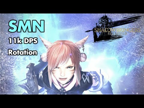 FFXIV - Summoner/SMN 11k DPS rotation (Patch 5 xx - Ilvl 436