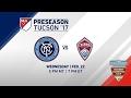 NYCFC vs Colorado Rapids | Desert Diamond Cup 2017 | LIVE