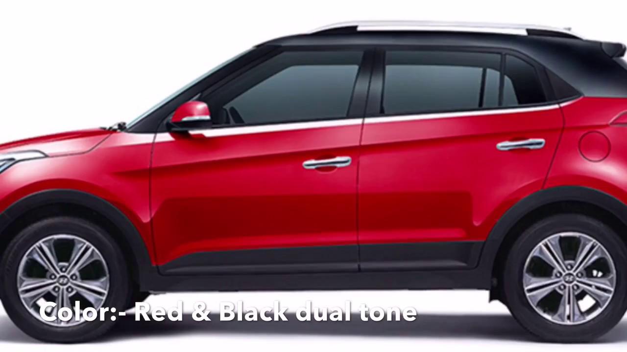 Creta 2017 White >> Hyundai Creta updated Dual tone Colors 2017 - YouTube