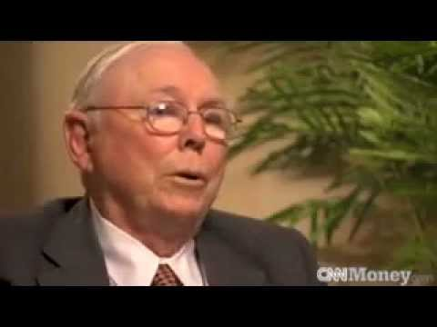 Charlie Munger on Banks and Derivatives