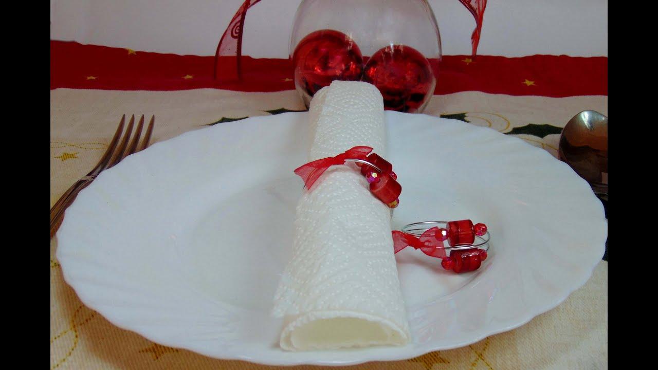 Hacer anillos navide os para servilletas youtube - Como hacer motivos navidenos ...
