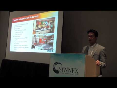 SYNNEX 2012 Reseller Training: Drive Results with NEC Display Solutions by NEC's Michael Ferrer