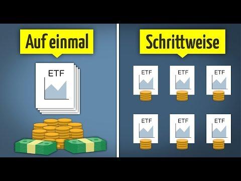 60.000€ auf einmal investieren oder lieber Schritt-für-Schritt?