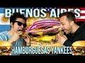 LA MEJOR HAMBURGUESA YANKEE ft DUSTIN LUKE   Burgertify vs Fat Broder