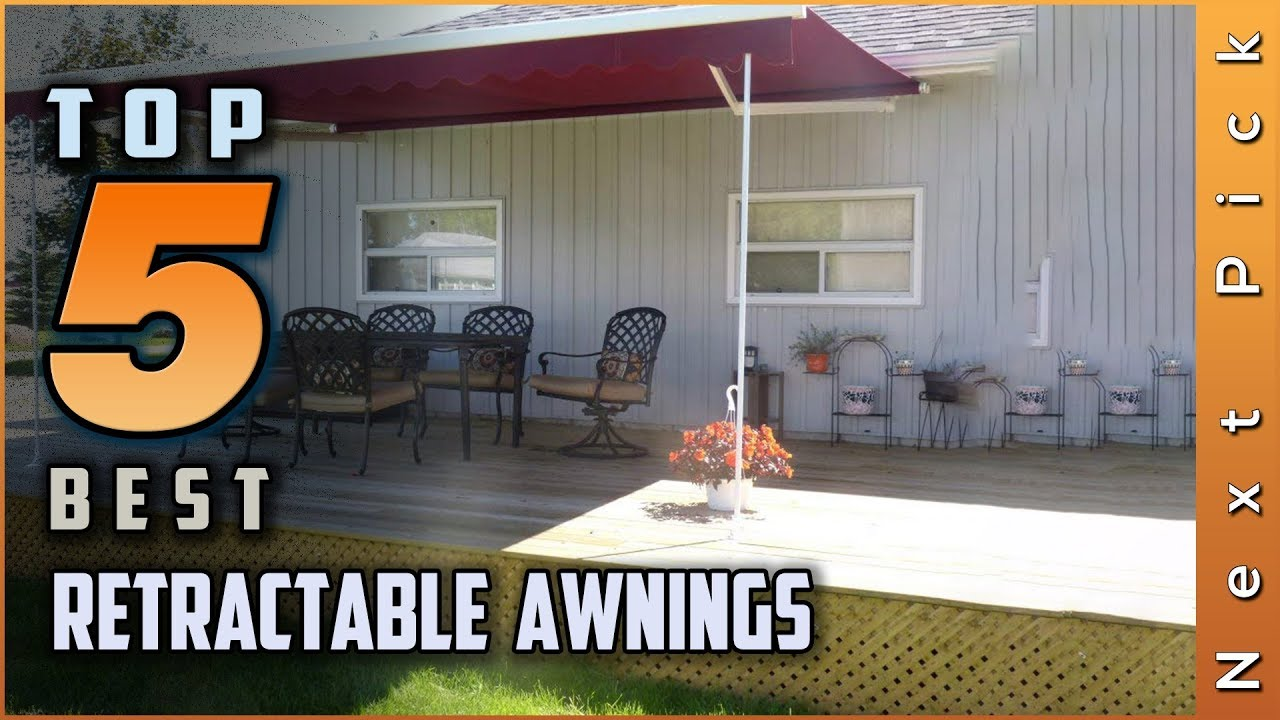 Top 5 Best Retractable Awnings Reviews in 2020 - YouTube