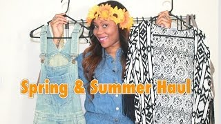 Spring & Summer Haul | feat H&M, Forever 21, Love Culture, etc. Thumbnail