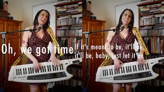 "Bebe Rexha ""Meant to Be"" x Jess Godwin ""BE"" Keytar Cover MASHUP"