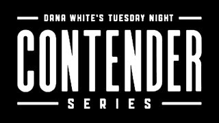 Streaming tonight at 5 pm pacific, 8 pm eastern Dana Whites Contender series