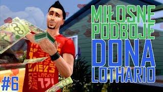 FLIRTY W KIBLU | Miłosne Podboje Dona Lothario #6 | The Sims 4