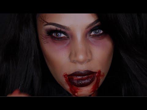 vampire queen makeup look youtube. Black Bedroom Furniture Sets. Home Design Ideas