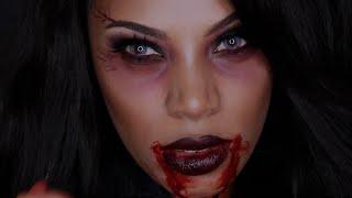 Vampire Queen Makeup Look