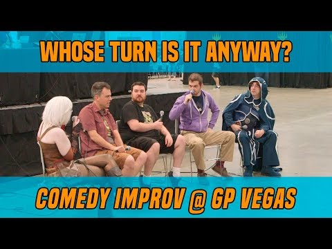 Whose Turn is it Anyway? - Comedy Improv at GP Vegas