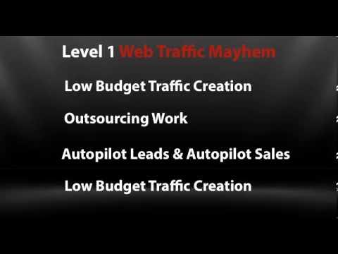 Web Traffic Mayhem: Teaser Feed