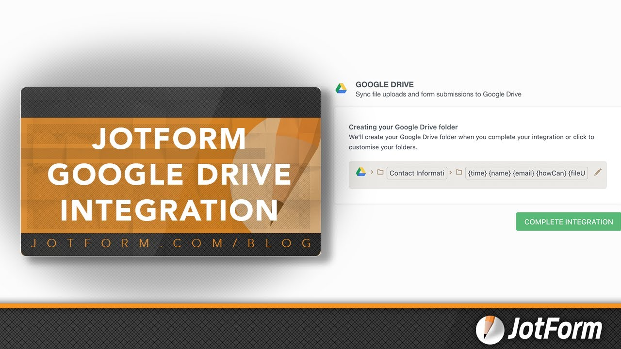 How To Integrate A Form With Google Drive