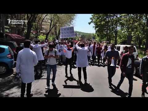 Antigovernment Protests Continue In Armenia