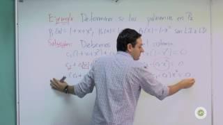 Dependencia e independencia lineal en espacios vectoriales