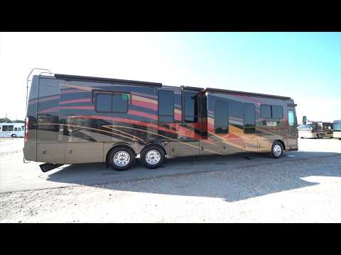 2009-thor-mandalay-43d-a-class-tag-axle-diesel-pusher-from-porter's-rv-sales