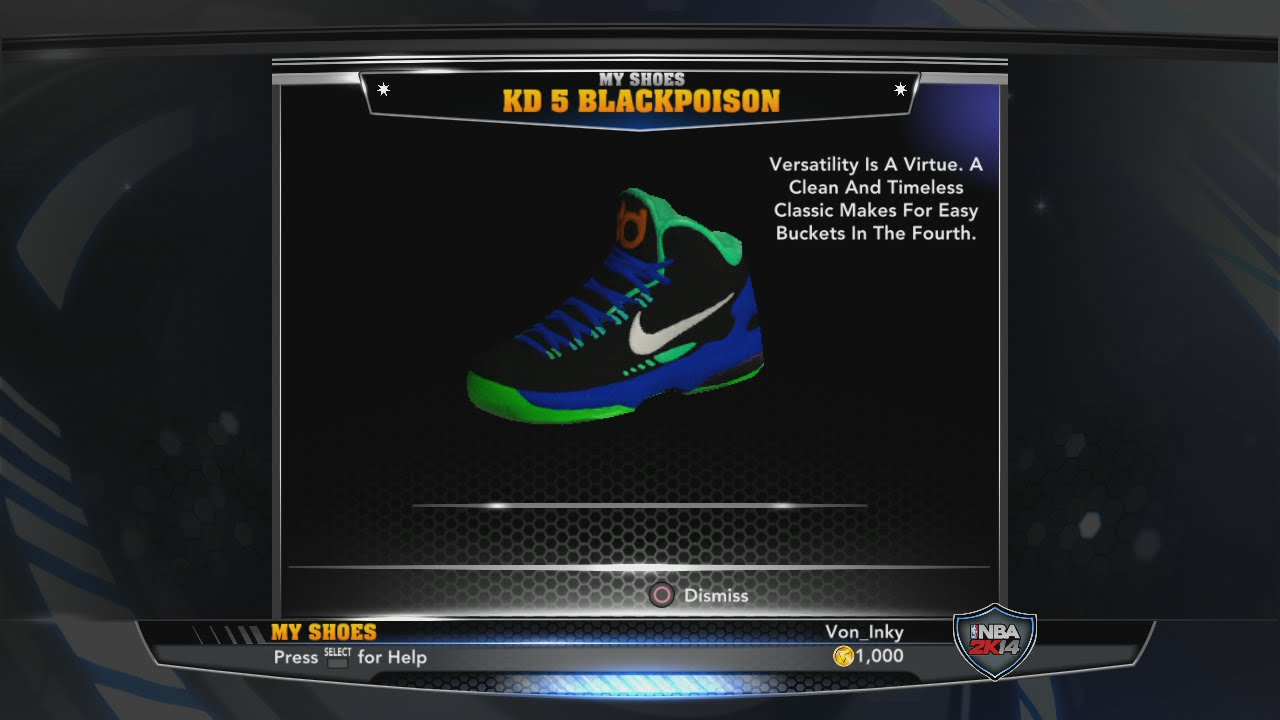 kd 5 green and black