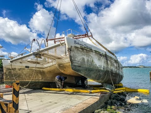 Buying a Hurricane Salvaged Boat - Crushed Dreams and False Hope
