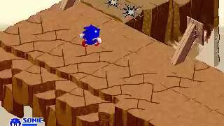 SegaSonic The Hedgehog (Japan, rev. C) - SegaSonic The Hedgehog (Japan, rev. C)  Epic Fail on Level 5 - User video