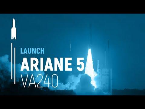 LIVE - Vol Ariane 5 VA240