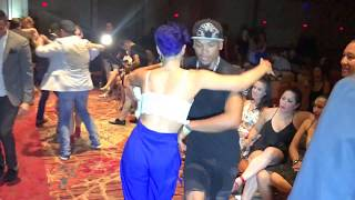 MIKE FAYE & MAUREEN ORTIN SALSA DANCE AT LAS VEGAS SALSA CONGRESS 2018