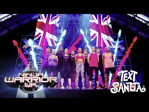 Behind the Scenes Ninja Warrior UK Text Santa Special | Ninja Warrior UK