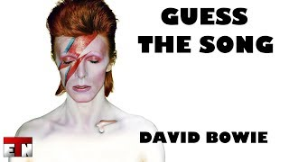 ETN Music Quiz - Guess The Song: David Bowie
