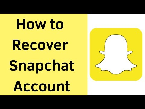 Repeat How to recover snapchat account Without email 2019 by