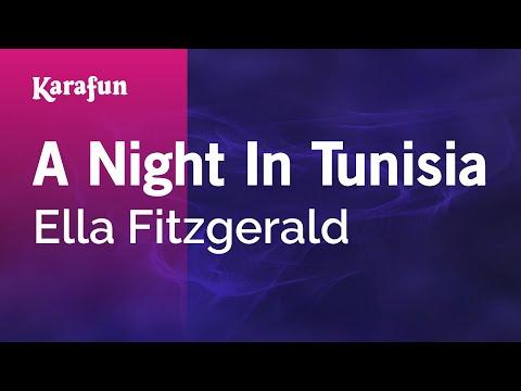 Karaoke A Night In Tunisia - Ella Fitzgerald *