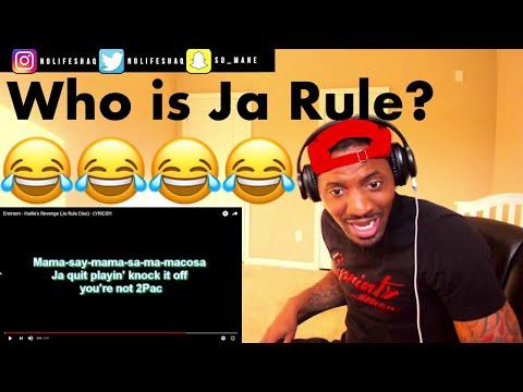 Poor Ja Rule! | Eminem - Hailie's Revenge (Ja Rule Diss)| REACTION