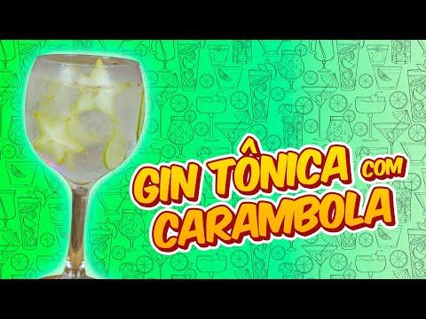 GIN TÔNICA COM CARAMBOLA 1